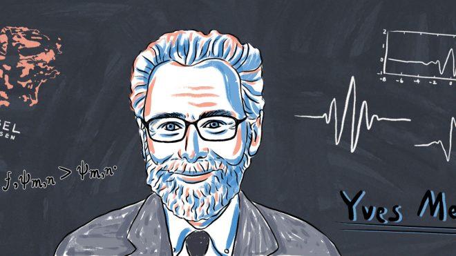 2017년 아벨상 수상자 Yves Meyer