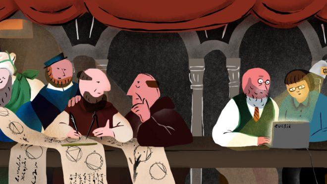 유클리드 원론 속 그림의 역사 [3]: 그리스어 필사본의