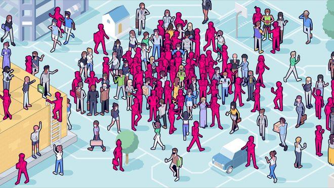 전염병 확산과 통계물리학