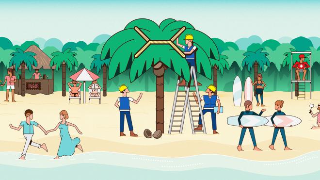 좁은 수학의 세계: 계통 나무, 열대기하학, 그리고 점의 배치