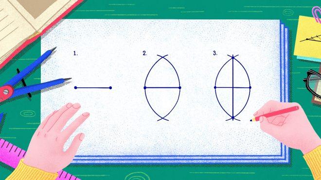 [3월의 퍼즐 해설] 정다각형으로 삼등분하기