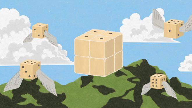 [6월의 퍼즐] 주사위로 만든 주사위